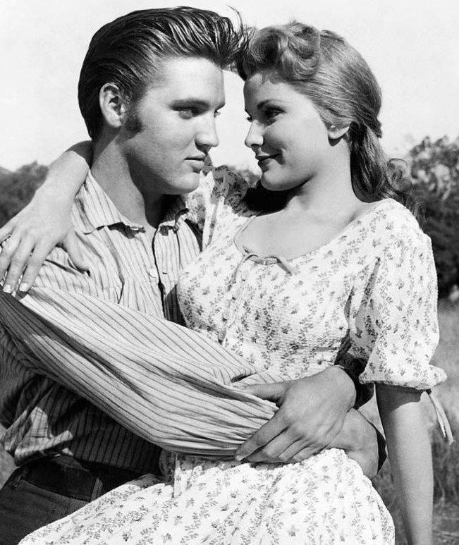 Elvis Presley & Debra Paget
