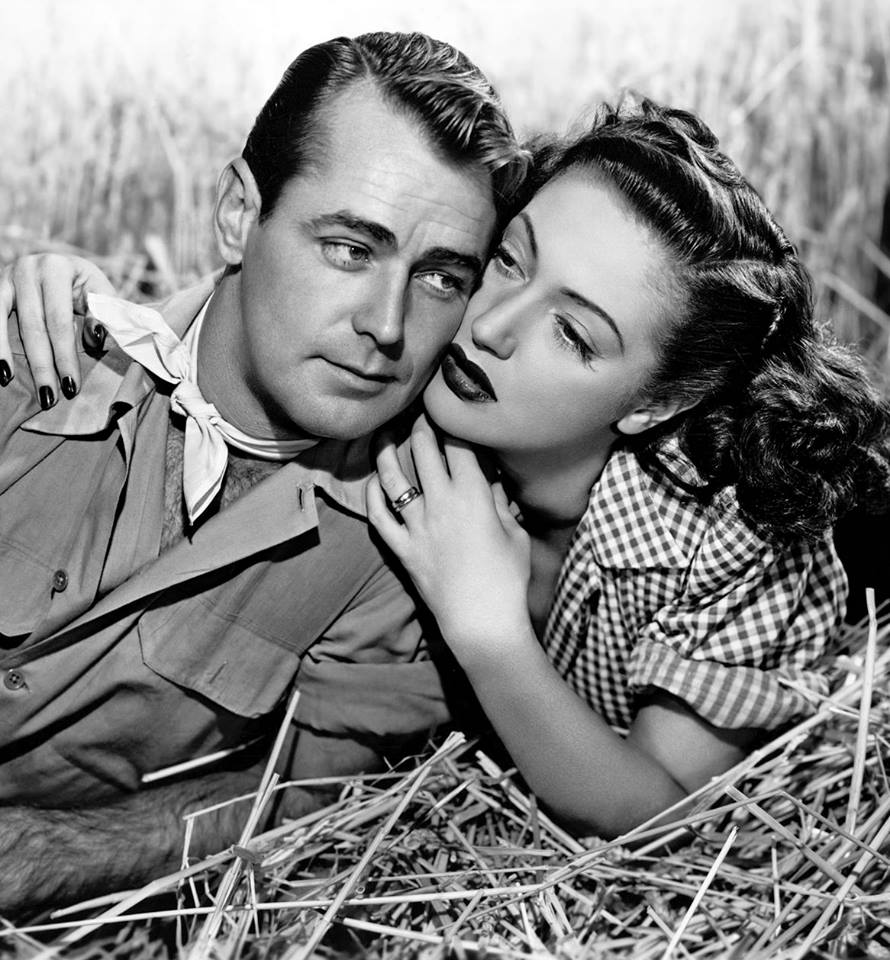 Alan Ladd & Dorothy Lamour