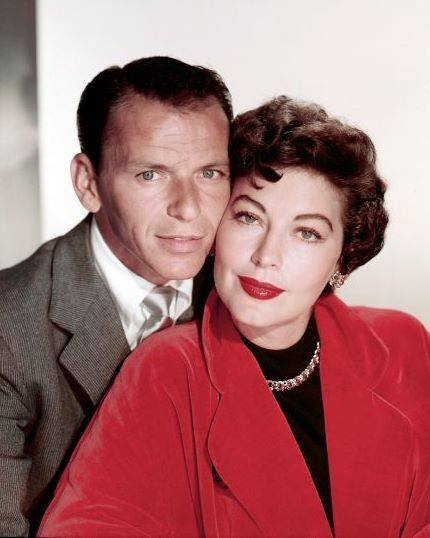 Frank Sinatra with his second wife Ava Gardner