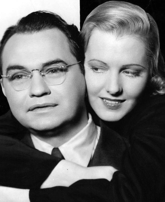 Edward G. Robinson & Jean Arthur
