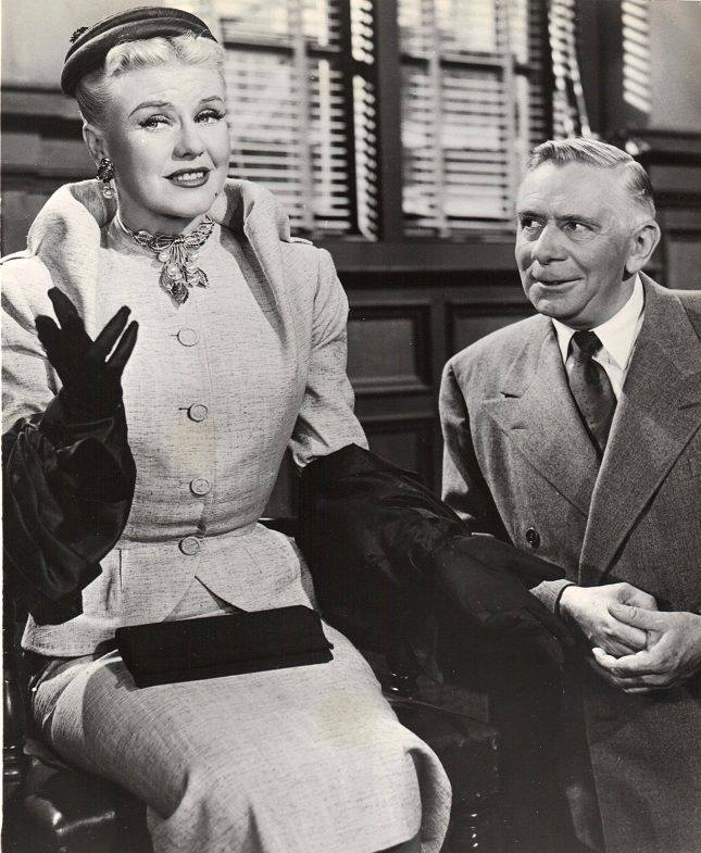 Ray Collins with Ginger Rogers