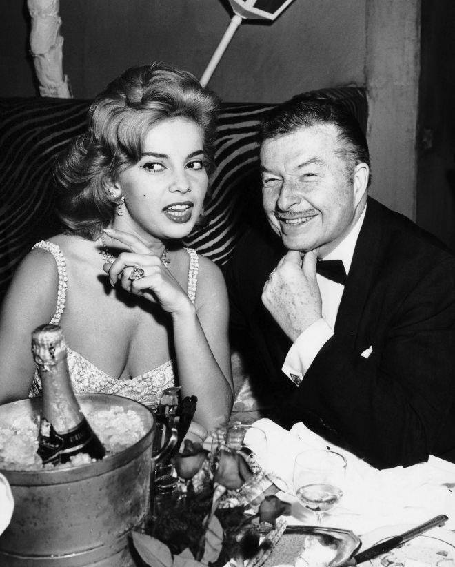 Abbe Lane with her first husband Xavier Cugat