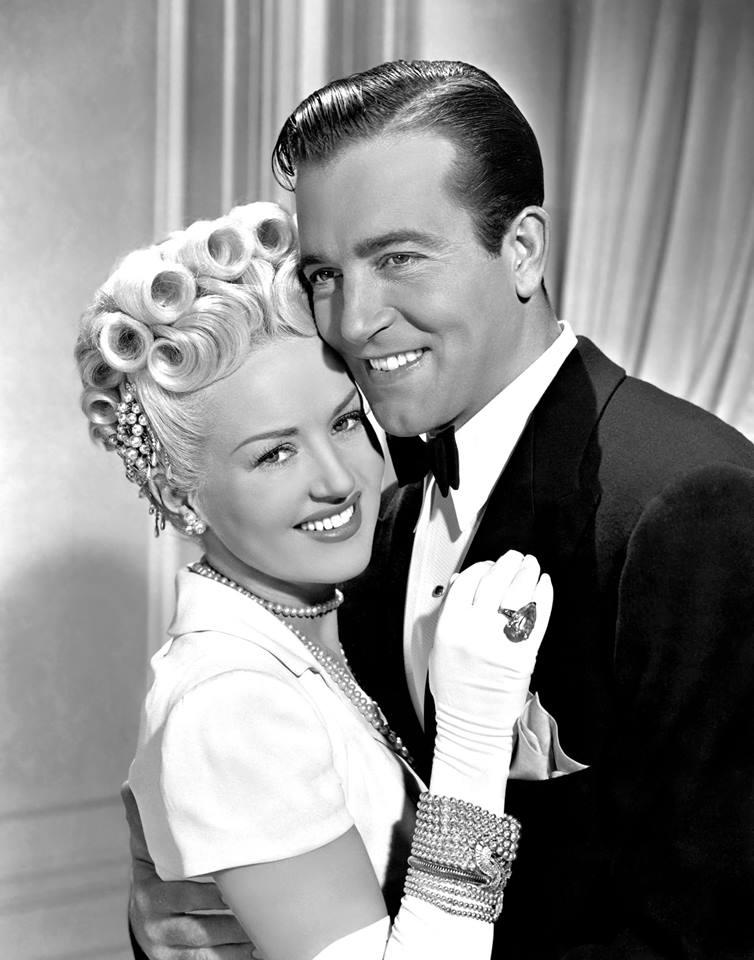 John Payne & Betty Grable