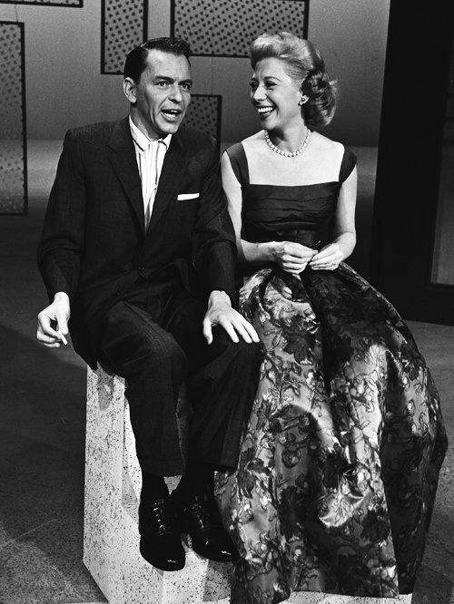 Frank Sinatra and Dinah Shore