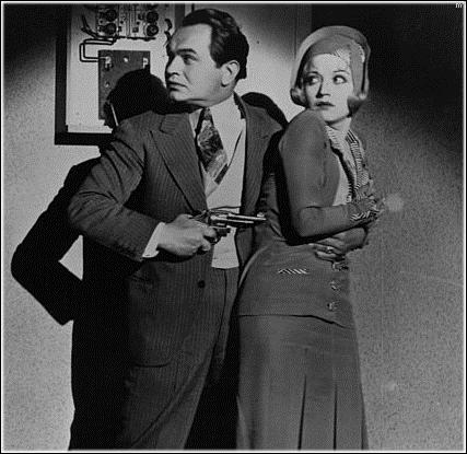 Edward G. Robinson and Alice White