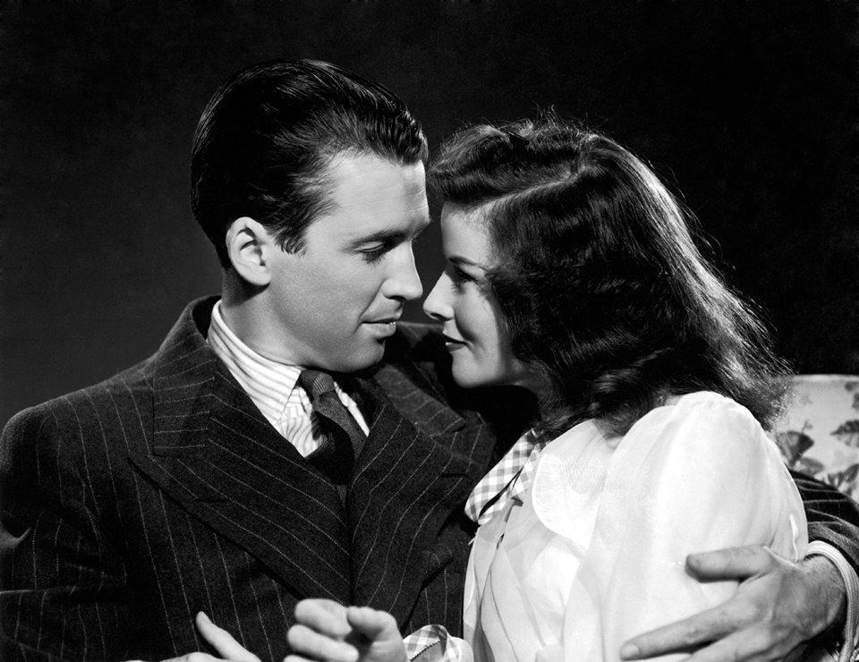 James Stewart & Katherine Hepburn