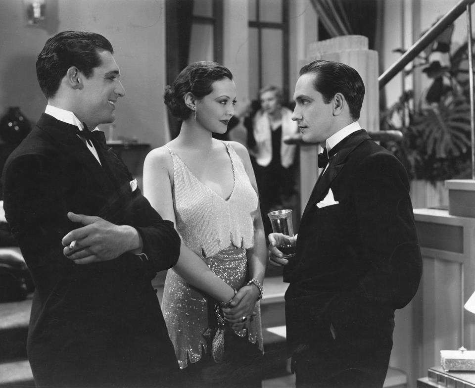 Sylvia Sydney, Fredric March & Cary Grant