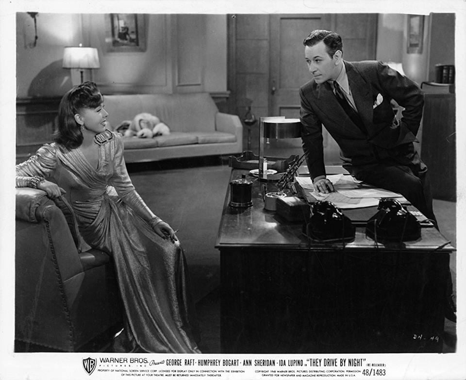 Ida Lupino & George Raft