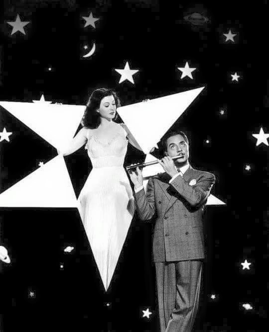Hedy Lamarr and William Powell