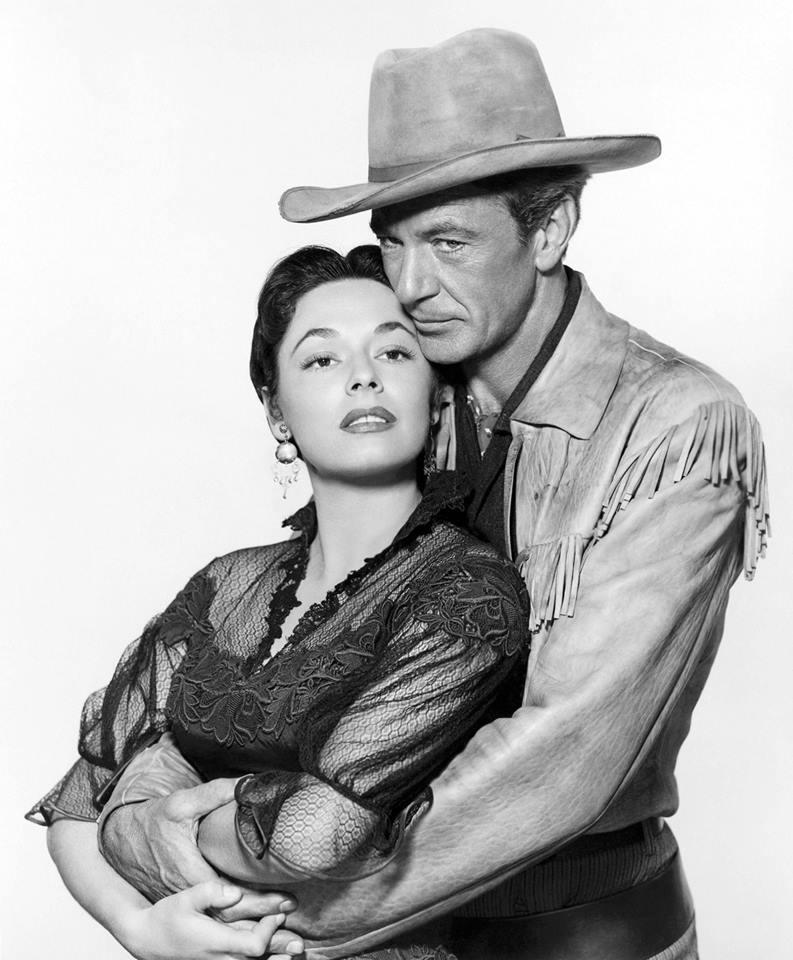 Gary Cooper & Ruth Roman