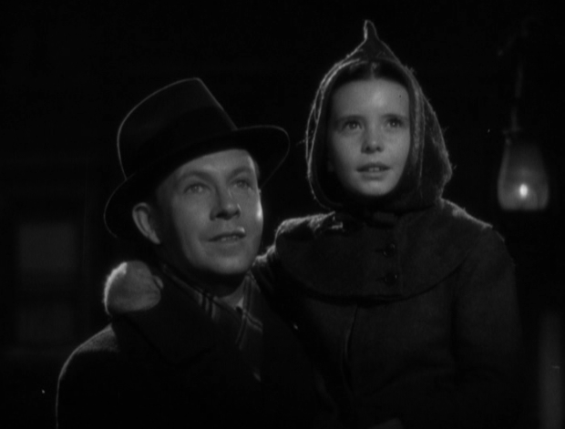 George Murphy and Margaret O'Brien