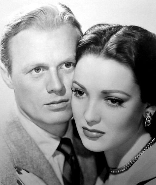 Richard Widmark & Linda Darnell