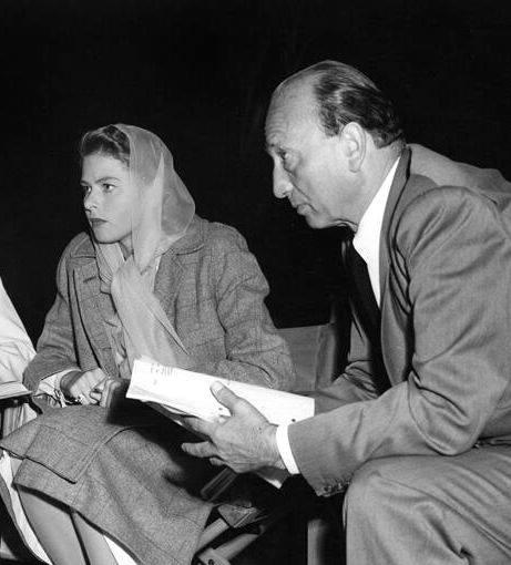 Michael Curtiz & Ingrid Bergman