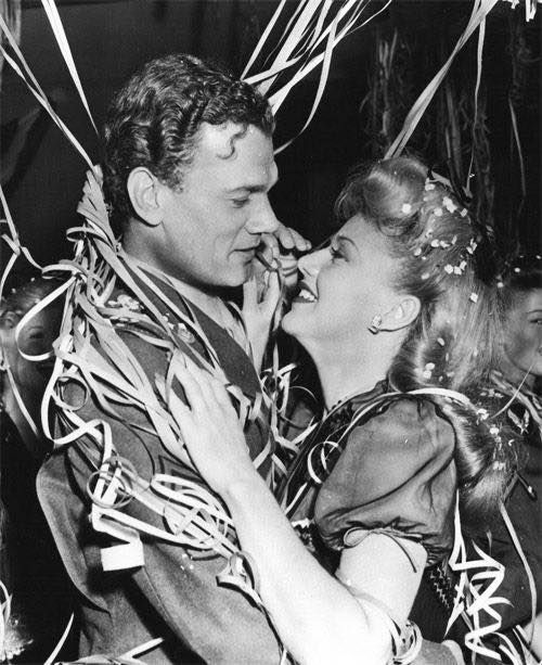 Joseph Cotten and Ginger Rogers