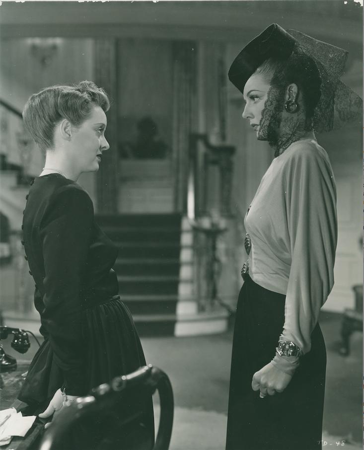 Bette Davis & Ann Sheridan