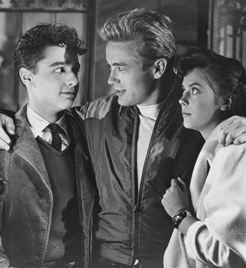Sal Mineo, James Dean and Natalie Wood
