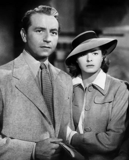 Paul Henreid & Ingrid Bergman