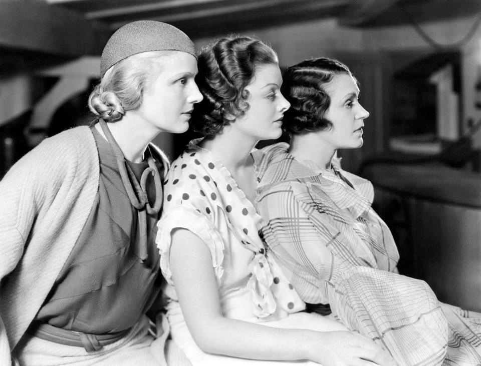 Ann Harding & Myrna Loy, & Alice Brady