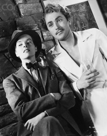 Katharine Hepburn & Brian Aherne