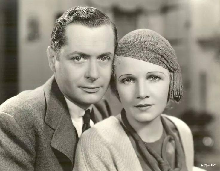 Ann Harding, Robert Montgomery