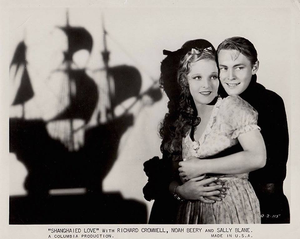 Richard Cromwell & Sally Blane