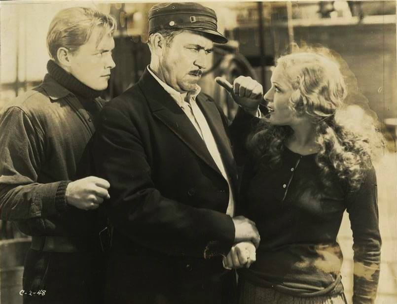 Richard Cromwell, Noah Beery & Sally Blane