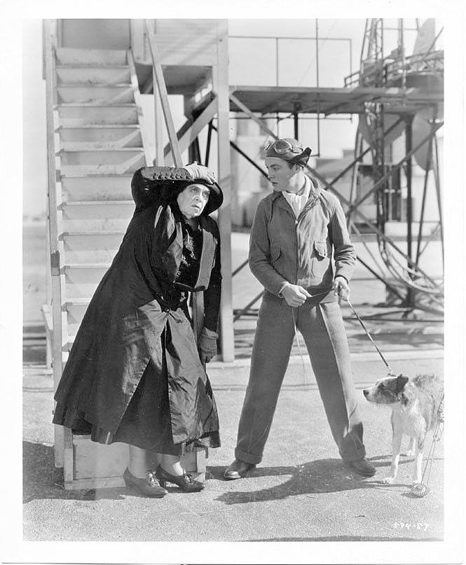 Marie Dressler & Richard Cromwell