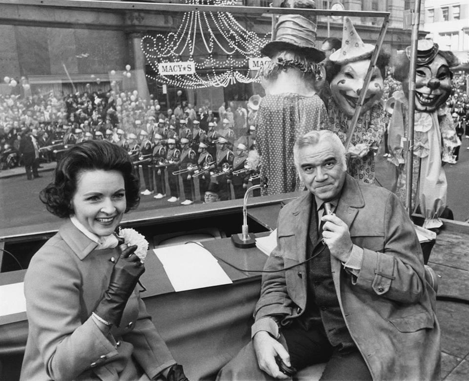Betty White and Lorne Greene
