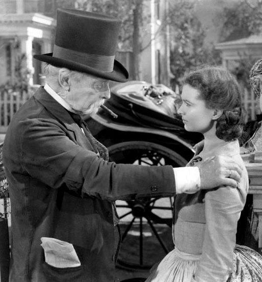 Harry Davenport & Vivien Leigh