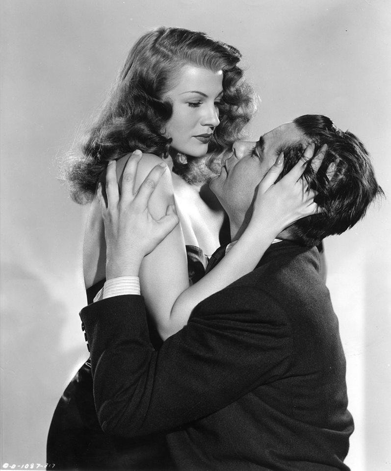 Rita Hayworth and Glenn Ford's