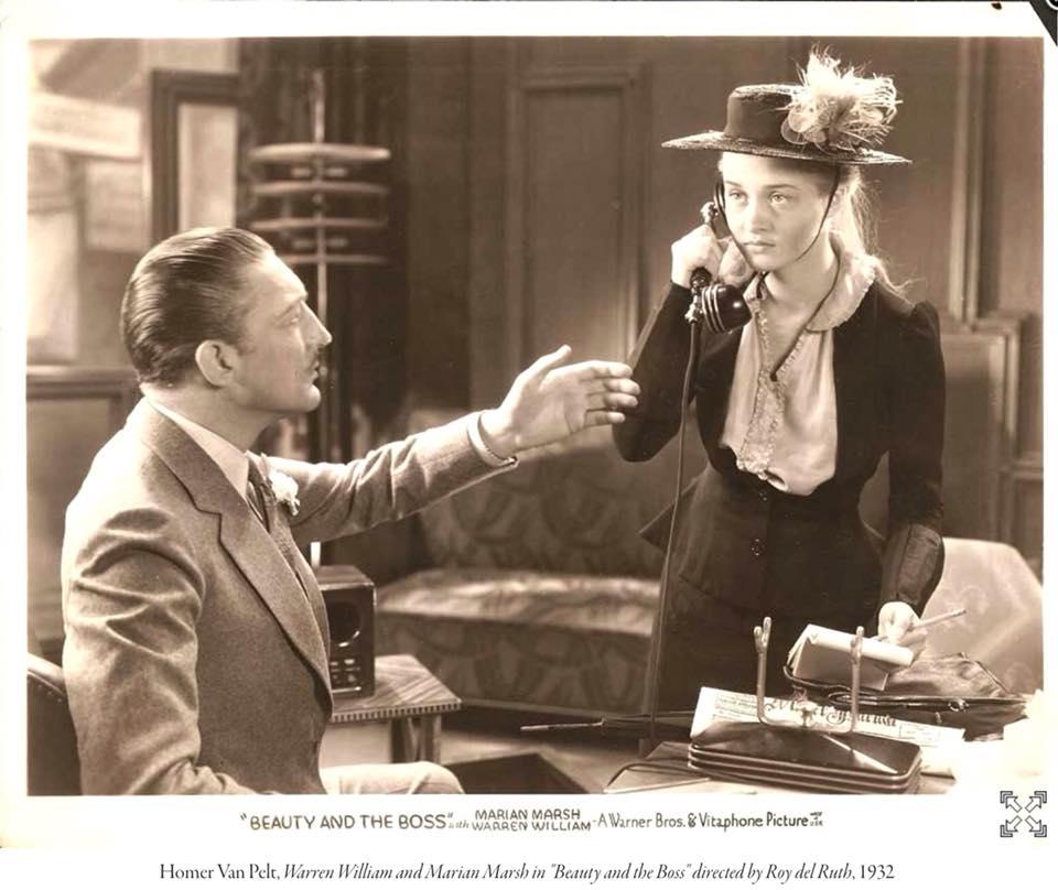 Warren William and Marian Marsh 1932.