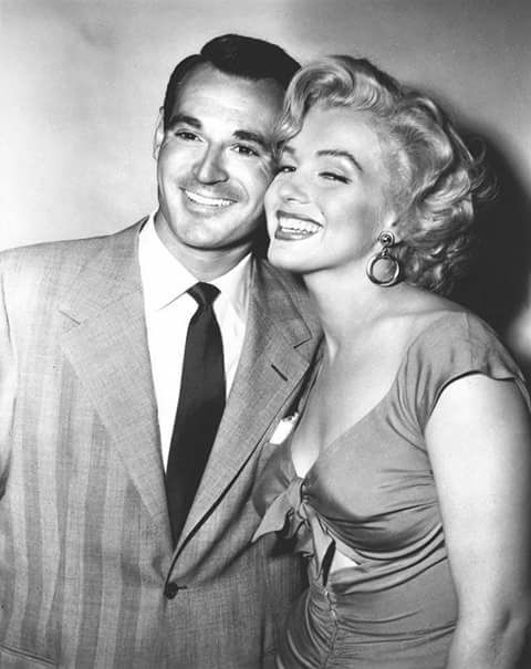 Marilyn Monroe and Ray Anthony