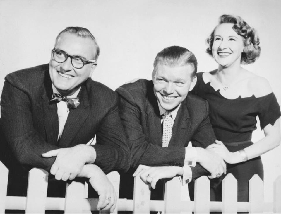 Dave Garroway, Jack Lescoulie and Arlene Francis