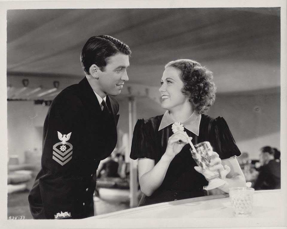 James Stewart and Eleanor Powell