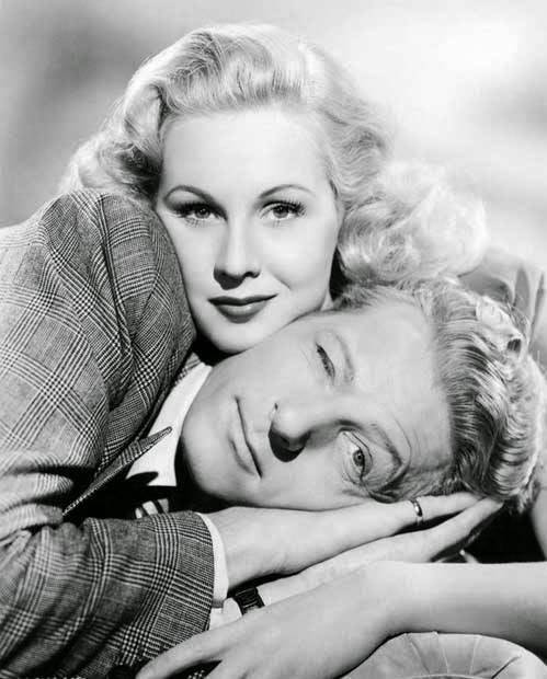 Virginia Mayo and Danny Kaye
