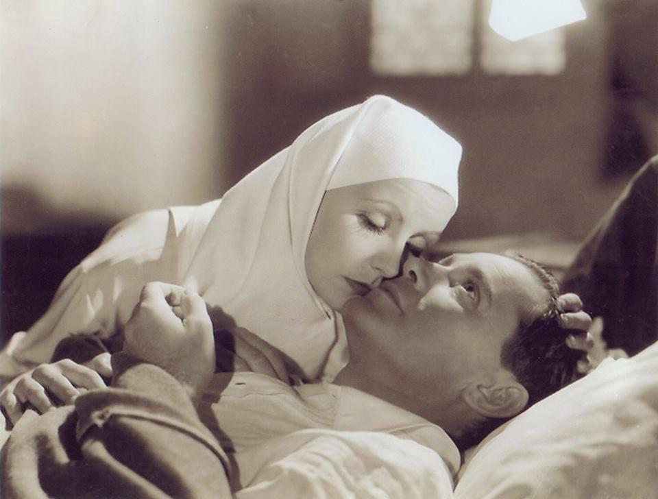 Greta Garbo & Herbert Marshall