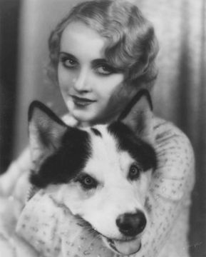 Young Carole Lombard with friend • 1930.
