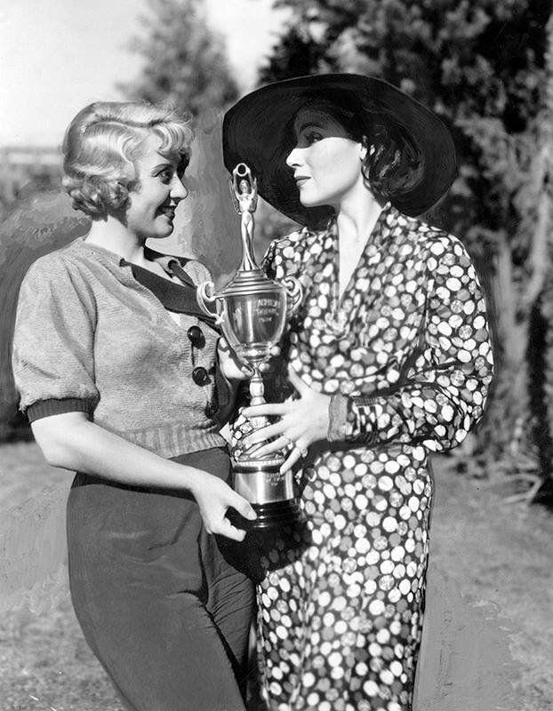 Joan Blondell & Dolores Del Rio
