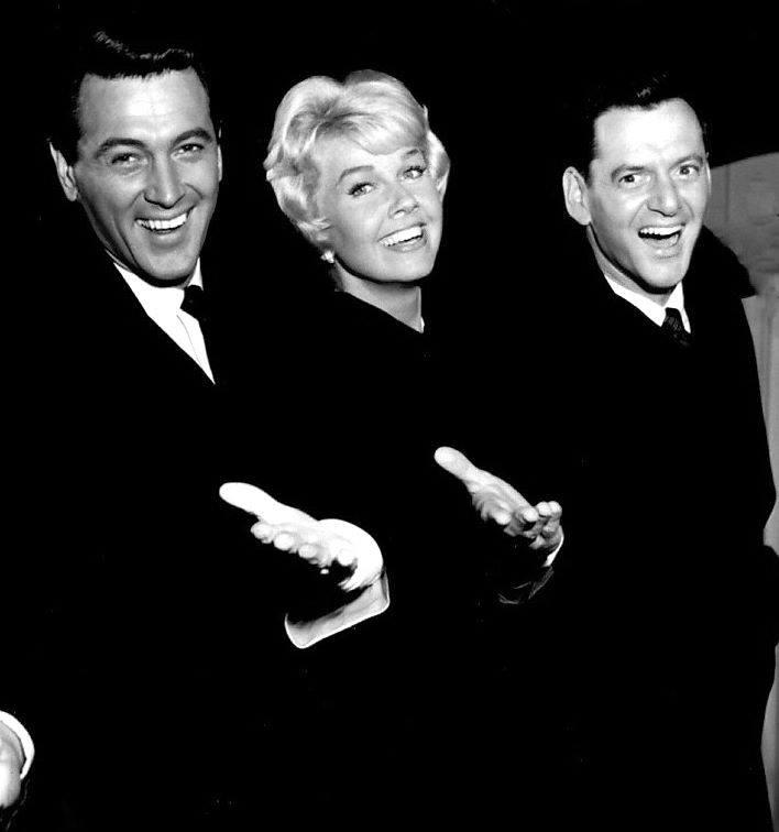 Rock Hudson, Doris Day and Tony Randall