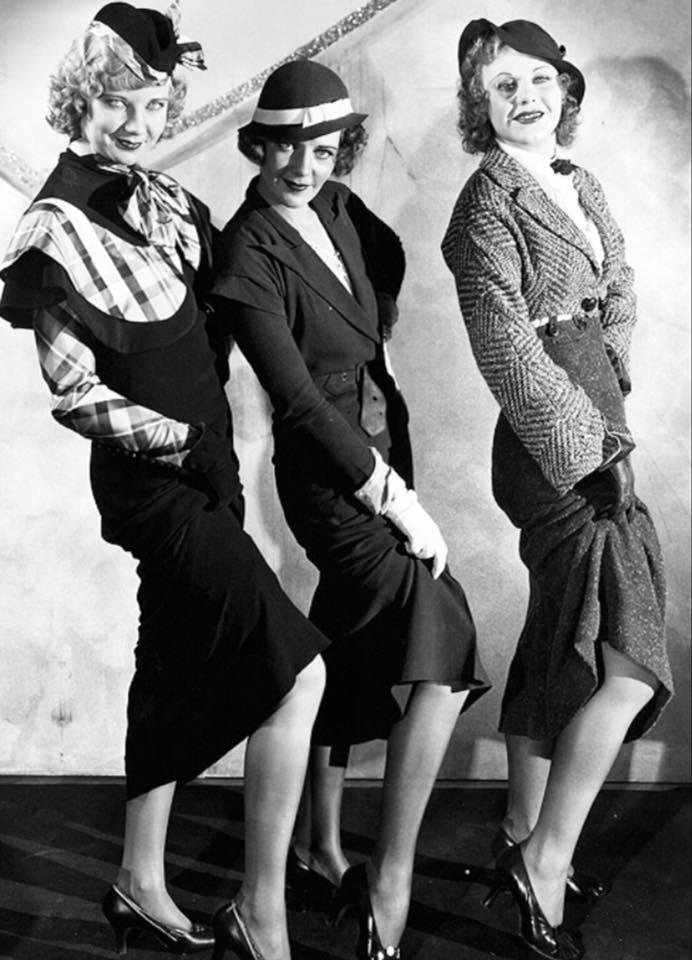 Una Merkel, Ruby Keeler and Ginger Rogers