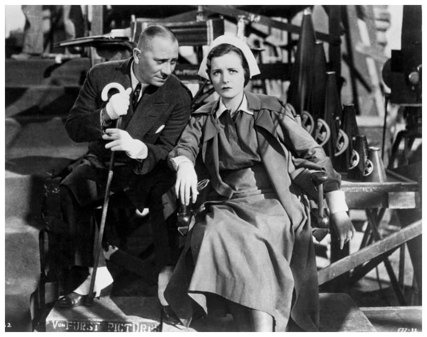 Mary Astor & Eric Von Stroheim
