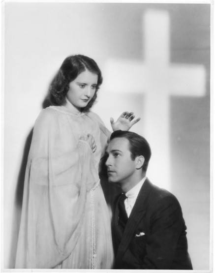 Barbara Stanwyck & David Manners