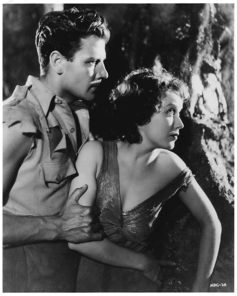 Joel McCrea and Fay Wray,