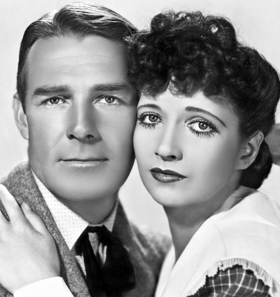 Randolph Scott & Kay Francis