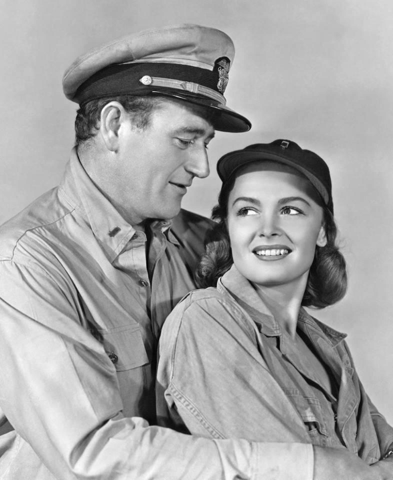 John Wayne & Donna Reed