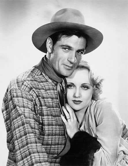 Gary Cooper and Carole Lombard.