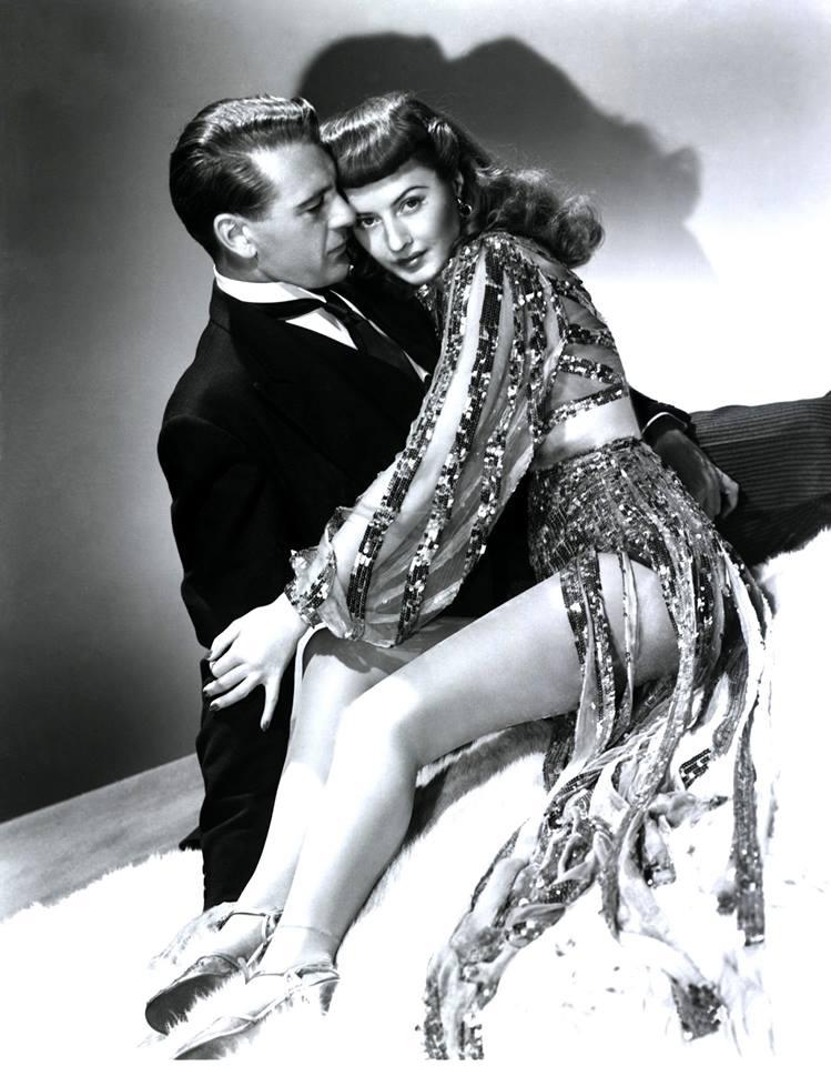 Gary Cooper and Barbara Stanwyck