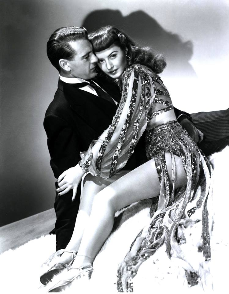 Gary Cooper and Barbara Stanwyck