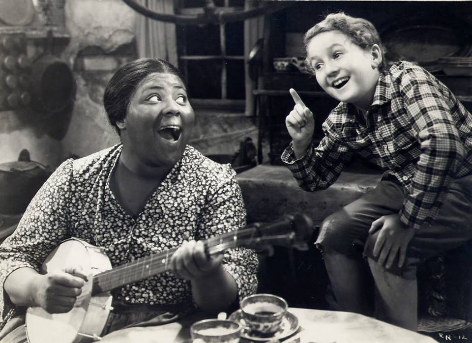 Louise Beavers! Here she is with Bobby Breen.
