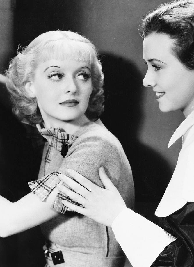 Bette Davis & Margaret Lindsay